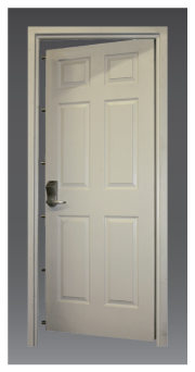 Vanguard Storm & Security Door from ProSteel Security Products